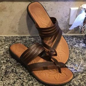 "B.O.C. Women's Sz 9 M ""Alisha Sandal"" Brown"